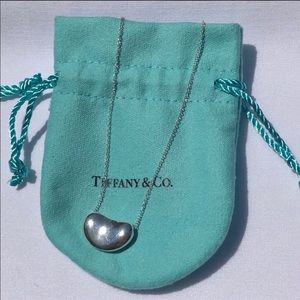 Tiffany & Co. Elsa Peretti Bean Necklace